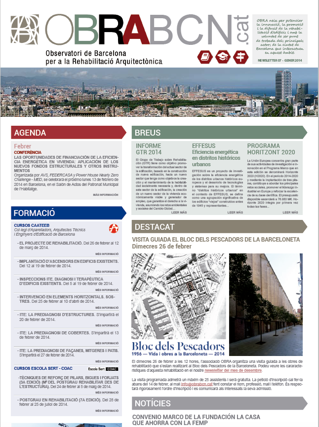 NEWSLETTER OBRABCN 7